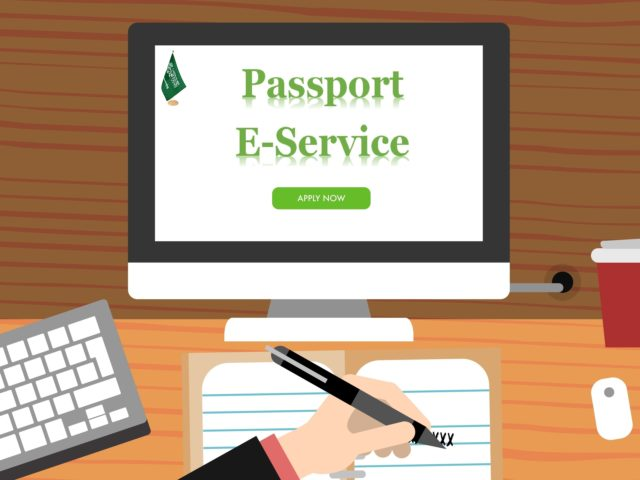 Passports E-Services in KSA