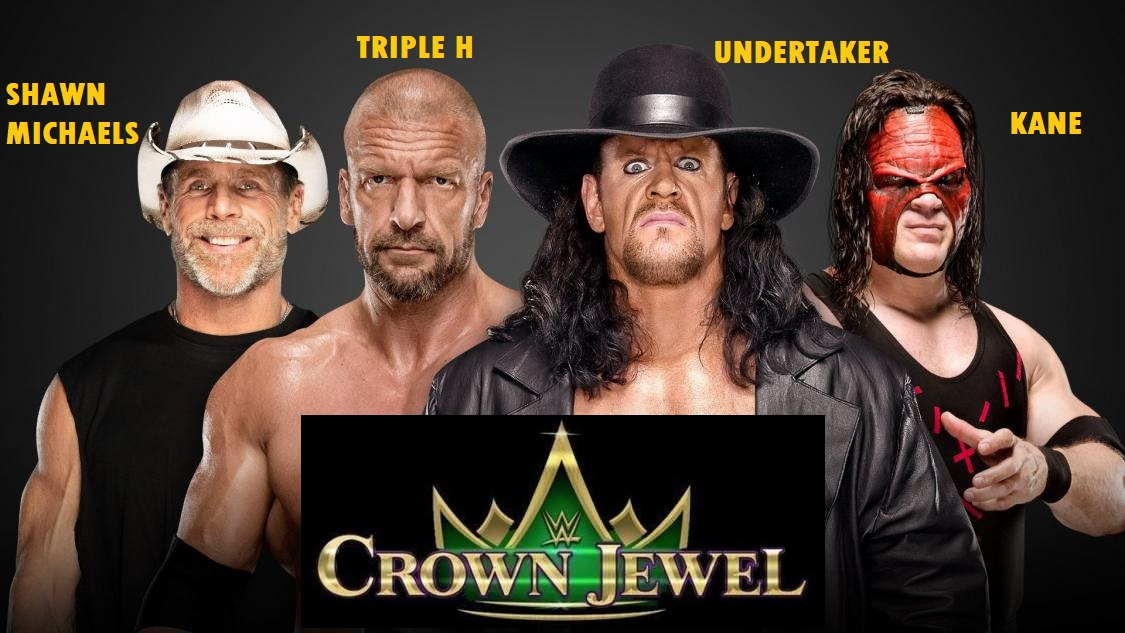 WWE Crown Jewel in Saudi Arabia