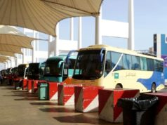 smart buses in Makkah