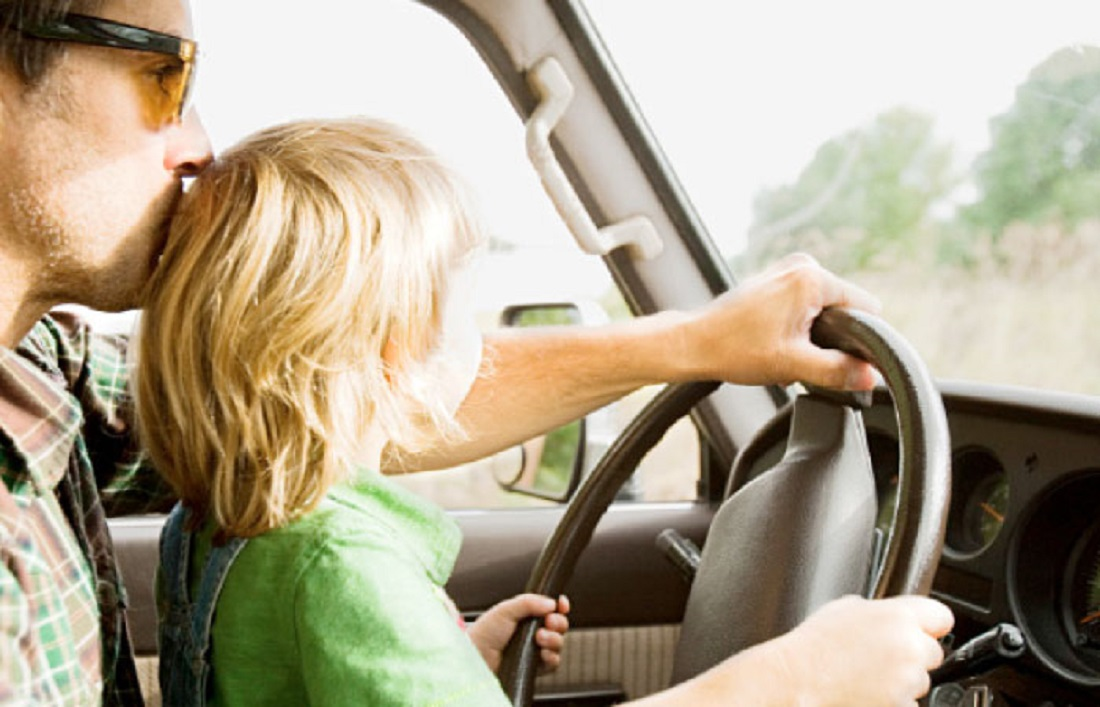 SR 300 Fine For a Child Below 10, Sitting on the Front Seat of a Vehicle