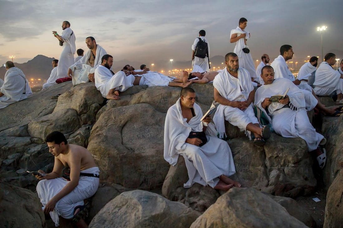 Important Rules to follow during the stay in Arafat by Hajj pilgrims