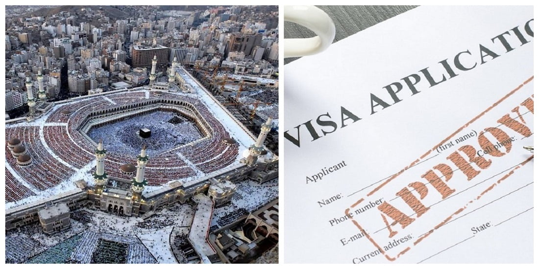 Umrah, Hajj, Transit and Saudi Visit visa Cost Fixed as SR.300 with 1 Year Validity