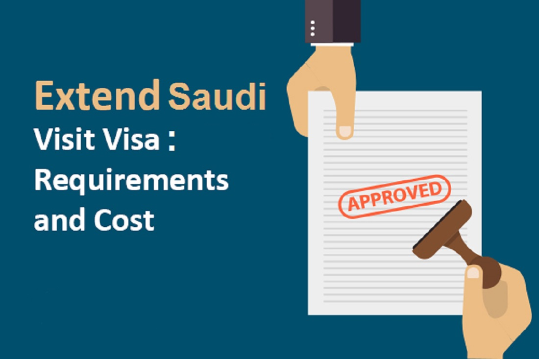 Procedure to Extend Saudi family visit visa