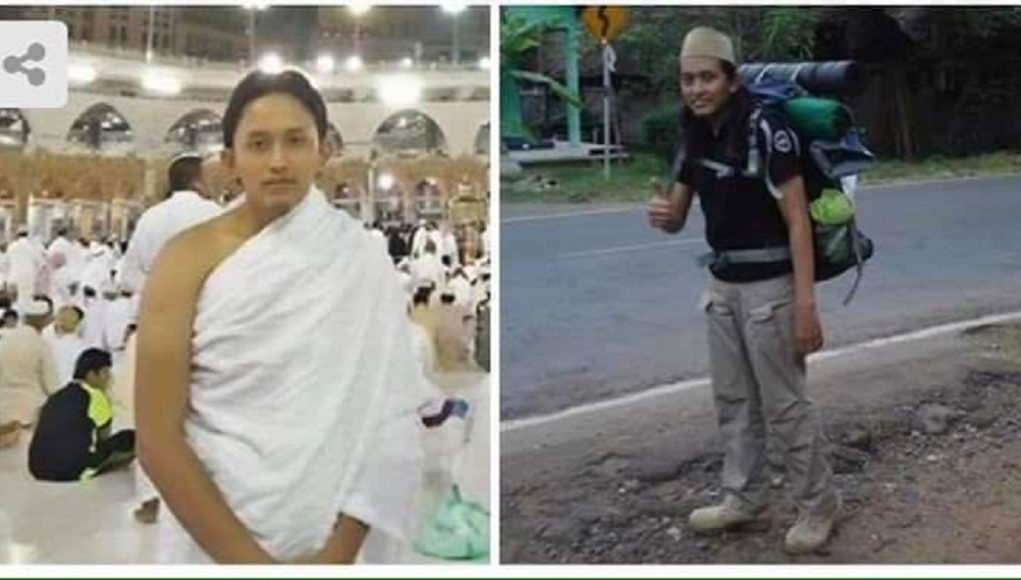 Indonesian man reached Makkah on foot to perform Hajj