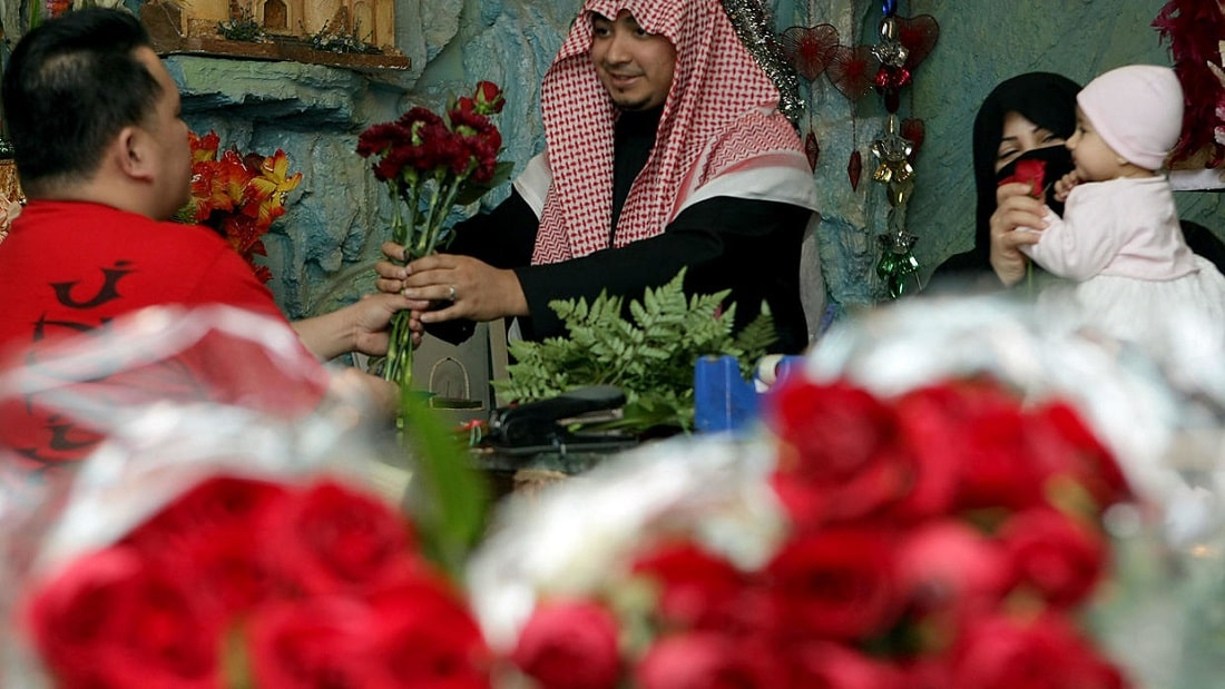 Saudi Arabia Celebrated Valentine's Day for the First Time in its History